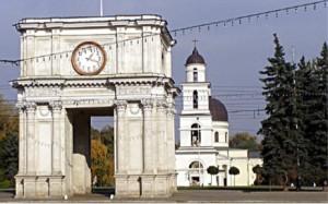Moldovan capital Chişinău (Kishinev)